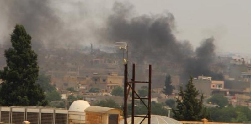 Kamışlı'da bomba yüklü motosikletle saldırı; dumanlar Nusaybin'den görüldü