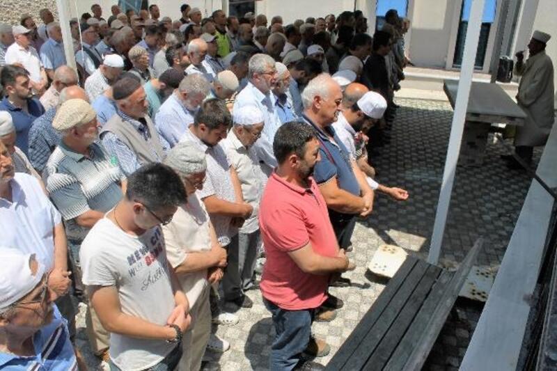 Manyas'ta Muhammed Mursi için gıyabi cenaze namazı