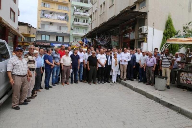 Yatağan'da Muhammed Mursi için gıyabi cenaze namazı kılındı