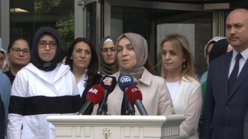 AK Parti İstanbul İl Başkanlığı'nda Mursi açıklaması