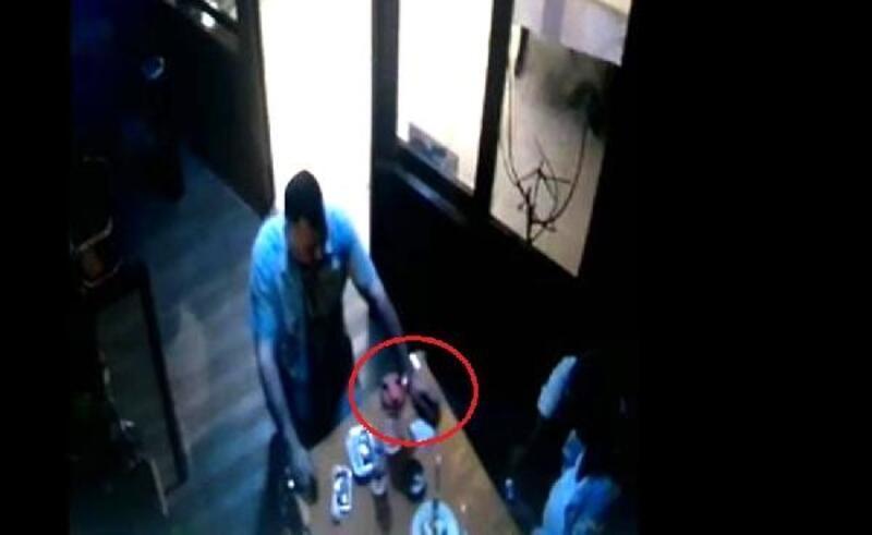 Avcılar'da restorandaki uyuşturucu alışverişi kamerada