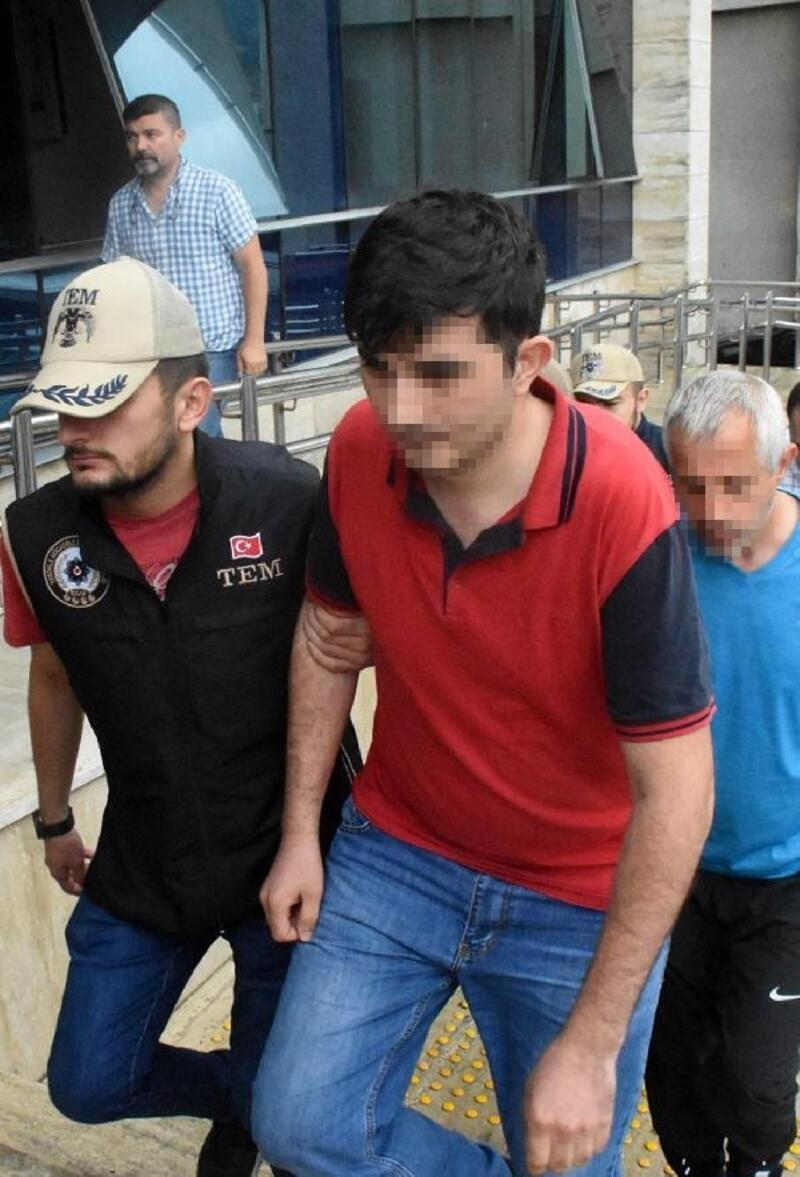 Zonguldak'ta 12 FETÖ şüphelisi adliyede
