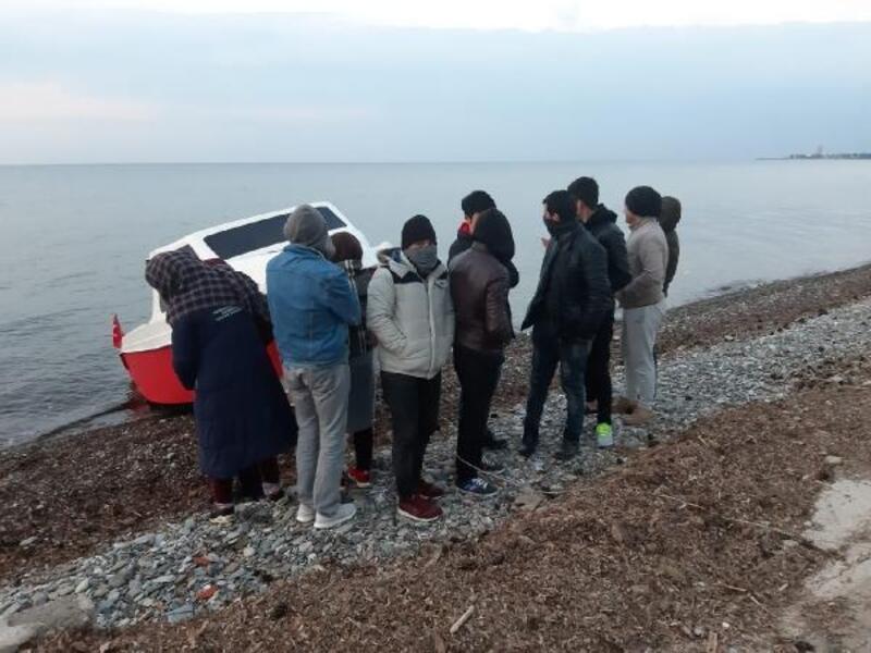 Balıkesir'de 75kaçak göçmen ile 1organizatör yakalandı