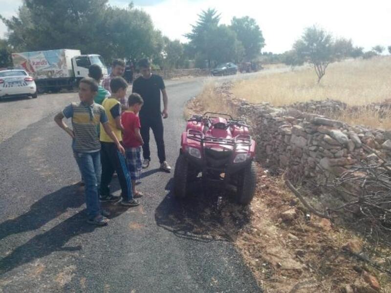 Adıyaman'da şarampole devrilen ATV'deki 7 kişi yaralandı