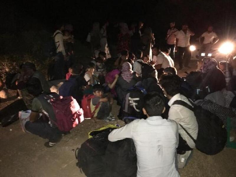 Balıkesir'de 42kaçak göçmen yakalandı