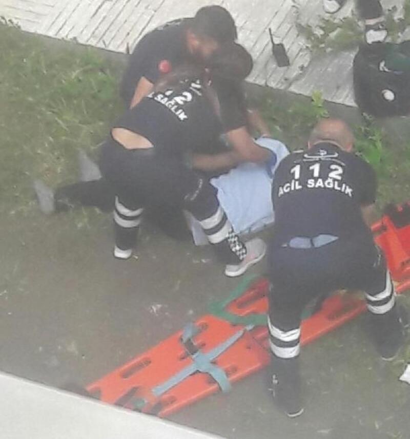 Balkondan düşen KOAH hastası öldü
