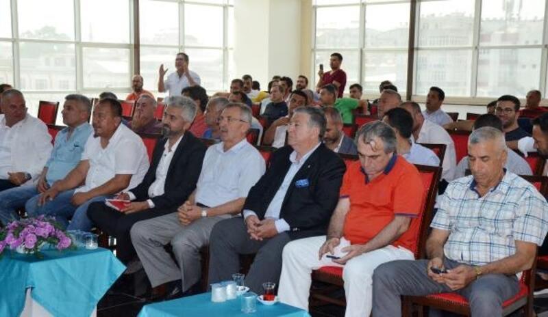 Serik Belediyespor'da kongre