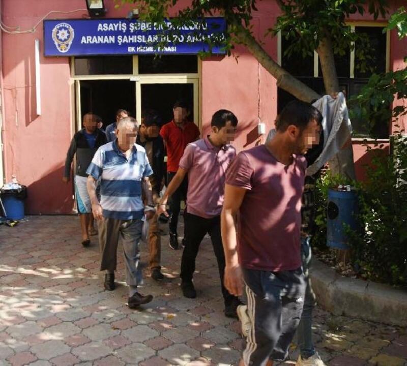 Polisten 'aranan' şüpheli operasyonu