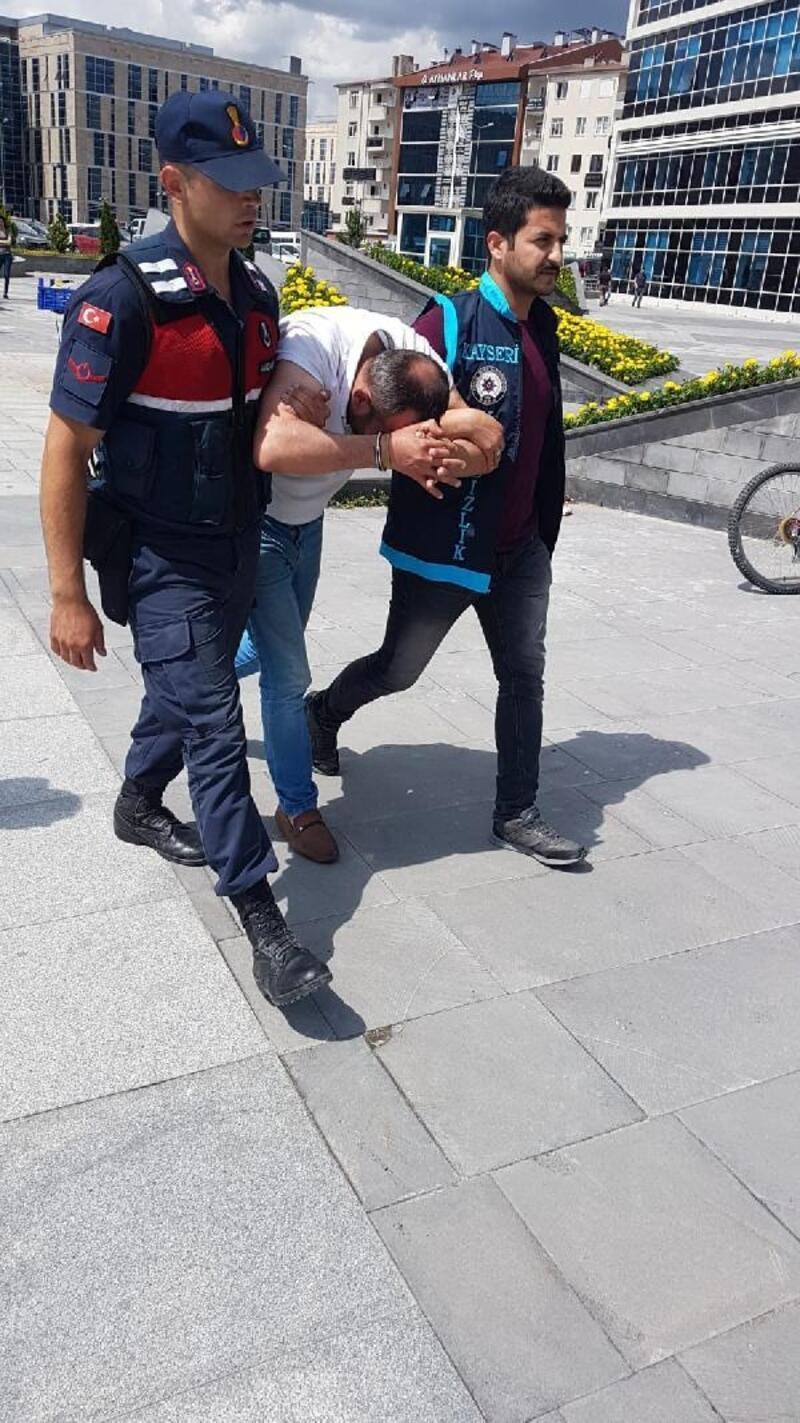 Kayseri'de şofben hırsızı tutuklandı