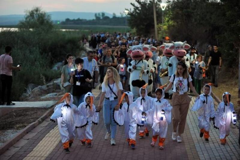 15'inci 'Uluslararası Eskikarağaç Leylek Festivali' başladı