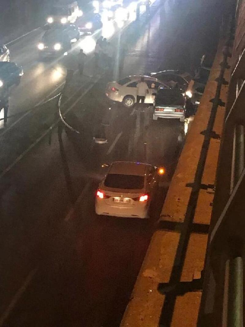 Denizli'de zincirleme kaza: 4 yaralı