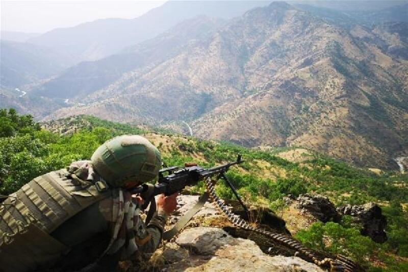 Pençe Harekatı'nda 57 terörist etkisiz hale getirildi