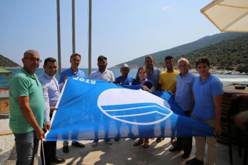Gökliman Plajı'na mavi bayrak
