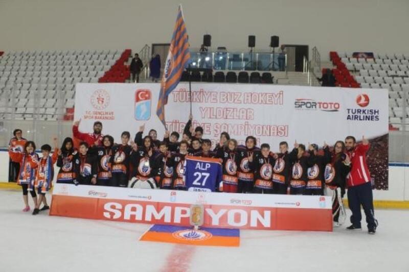 Buz Hokeyi Yıldız B Ligi'nde şampiyon İstanbul BB oldu