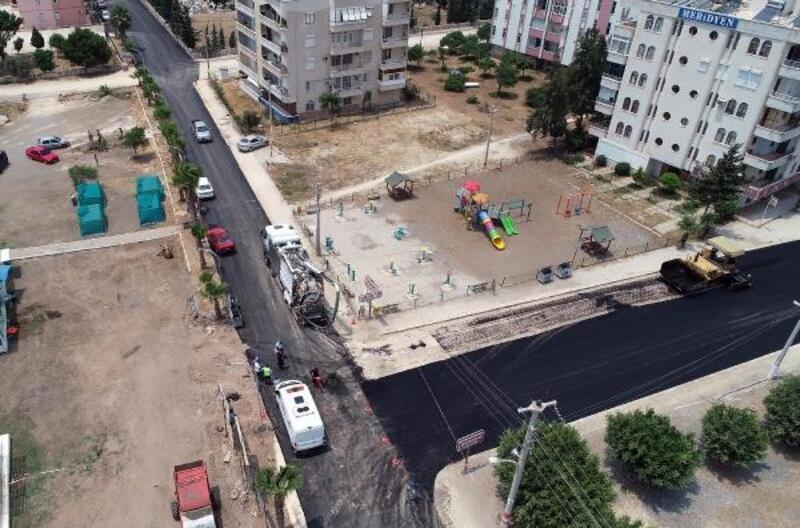 Kocahasanlı'da asfaltlama işlemi tamamlandı