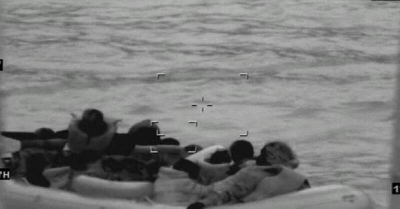 Bodrum açıklarında 15 kaçak göçmen yakalandı