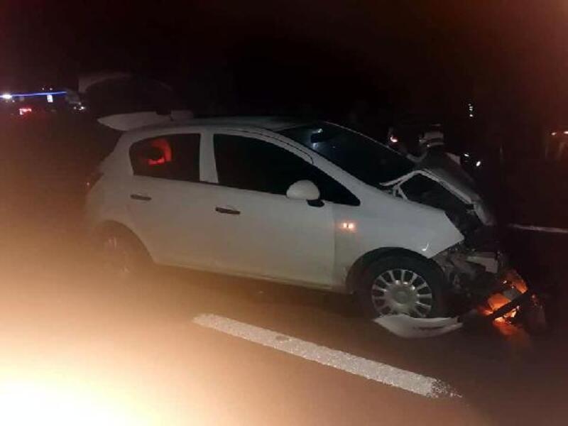 Mengen'de kaza: 1 ölü, 5 yaralı