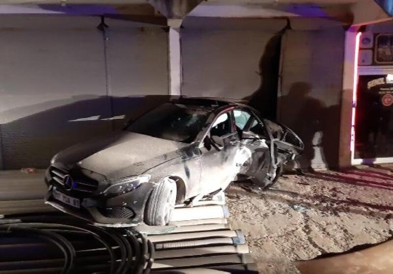 Gazipaşa'da kaza: 3 yaralı