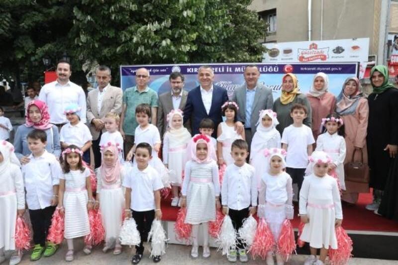 Kırklareli'nde yaz Kuran kursları başladı