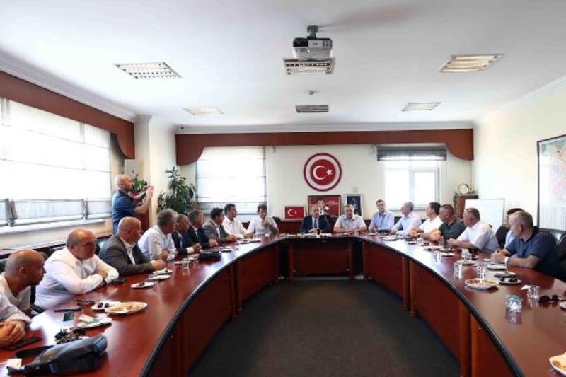 Kosovalı heyet Bağcılar Belediyesi'ni ziyaret etti