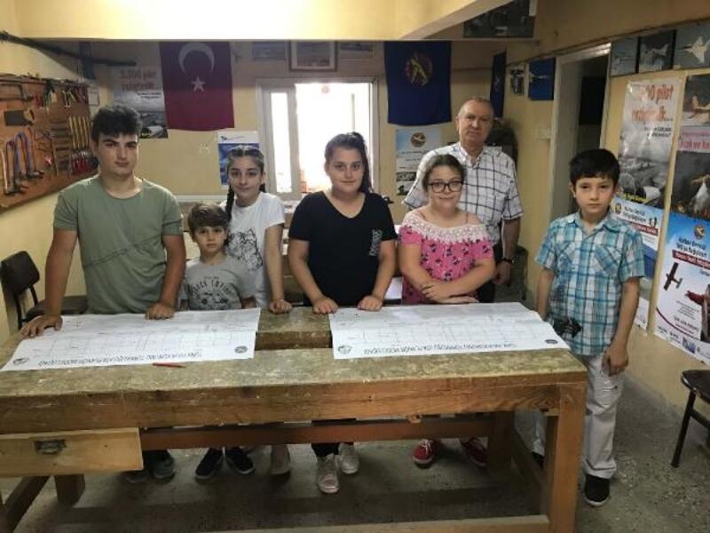 Orhangazi'de model uçak kursları başladı
