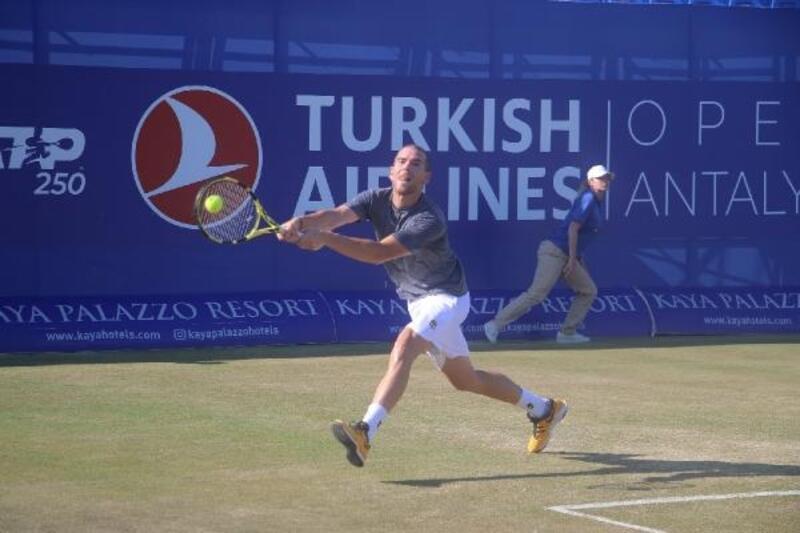 Antalya Open'da Mannarino dördüncü güne damga vurdu