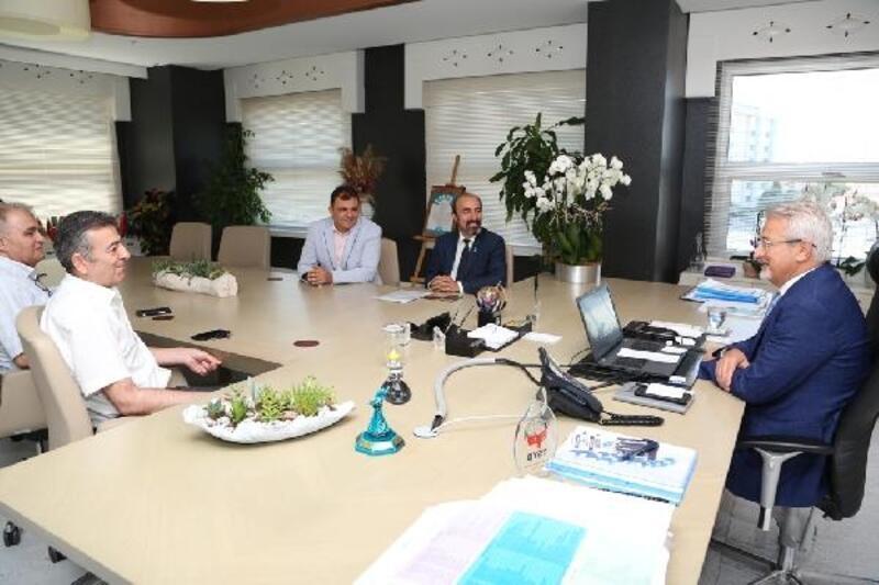 TSYD Bursa Şubesi'nden Başkan Erdem'e ziyaret