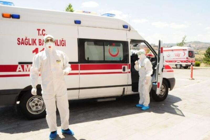 Nevşehir Adliyesi'ne gelen 'şüpheli toz' inceleniyor