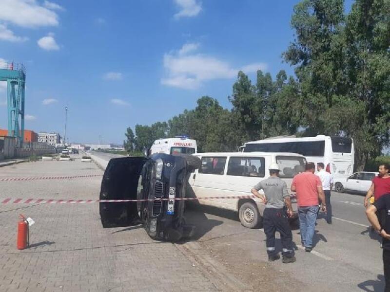 Yalova Tersaneler Bölgesi'nde kaza: 2 yaralı