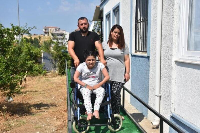 Bedensel engelli Yarensu'dan 'yoluma dokunmayın' çağrısı