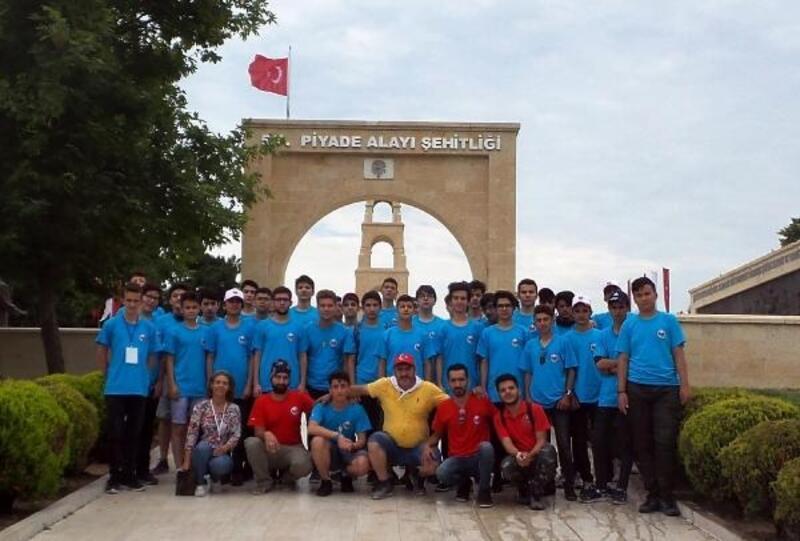 Öğrenciler, Çanakkale'den döndü