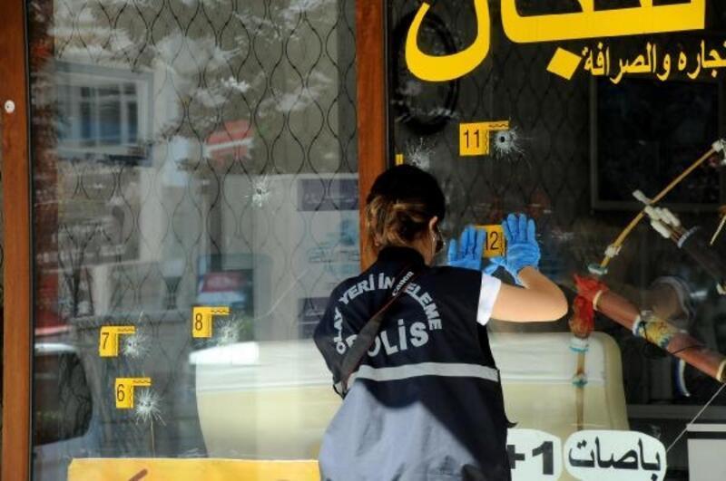 Iraklıya ait iş yeri kurşunlandı