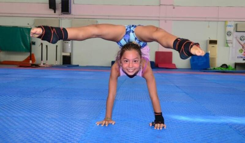 Işıl ve İrem, jimnastikte Türkiye birincisi