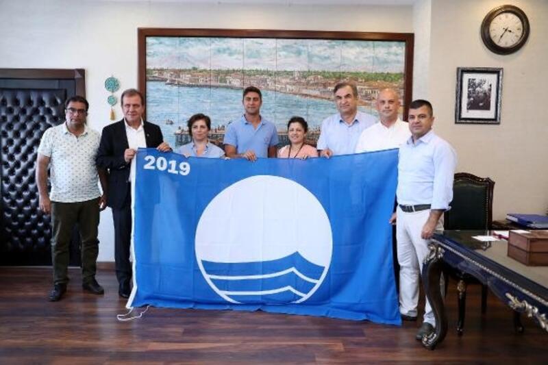 Kızkalesi ve Susanoğlu plajları, yeniden mavi bayraklı