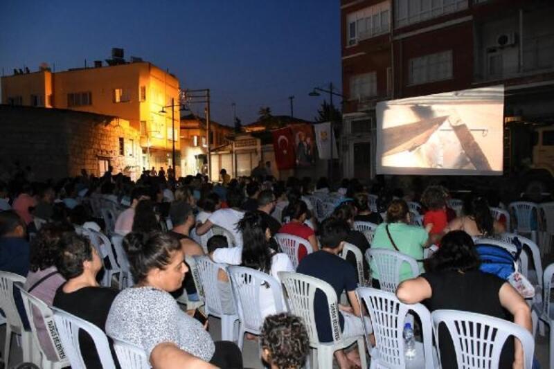 Nostaljik açık hava sinemasına yoğun ilgi