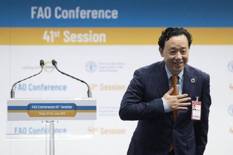 Qu Dongyu FAO Genel Direktörü seçildi