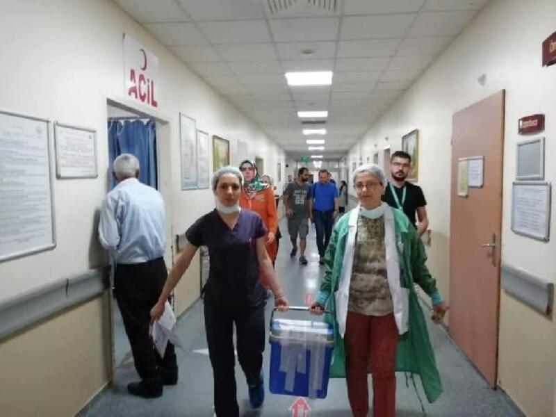 Organları bağışlanan 8 hasta 18 kişiye umut oldu