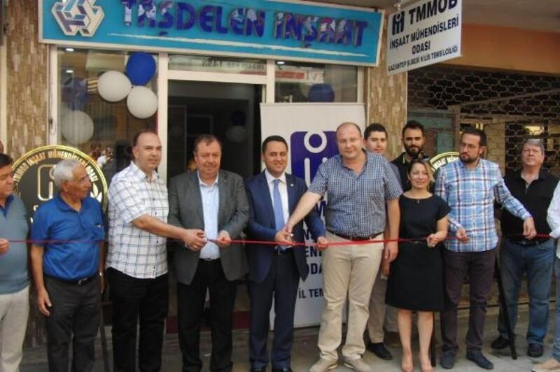 Kilis'te İnşaat Mühendisler Odası temsilciliği açıldı