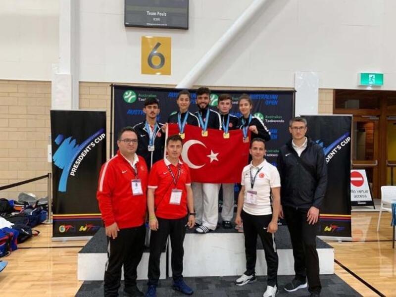 Para-taekwondoculardan Okyanusya Şampiyonası'nda 5 madalya