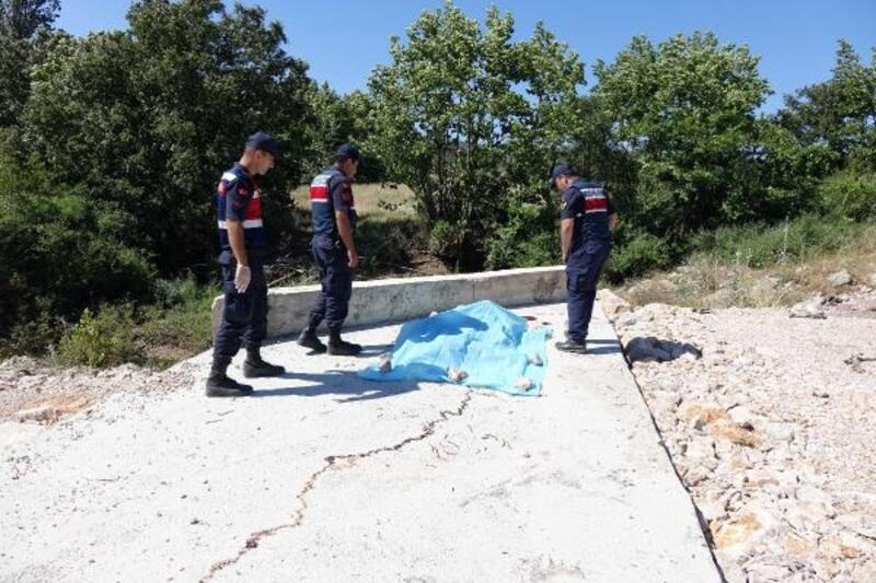 Çanakkale'deki tünel inşaatı alanında ceset bulundu