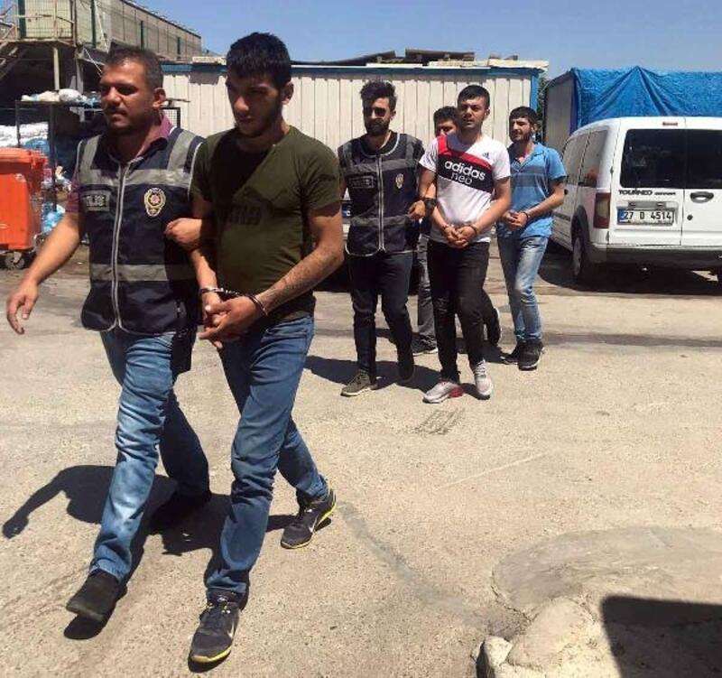 Göçmen sağlığı merkezlerinden hırsızlık yapan 3 kişi yakalandı