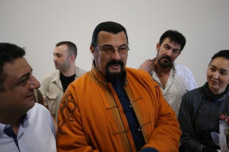 ABD'li ünlü aktör İstanbul'a geldi