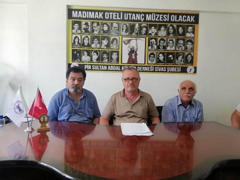 Sivas'ta, 2 Temmuz'da yaşamını yitirenler anılacak