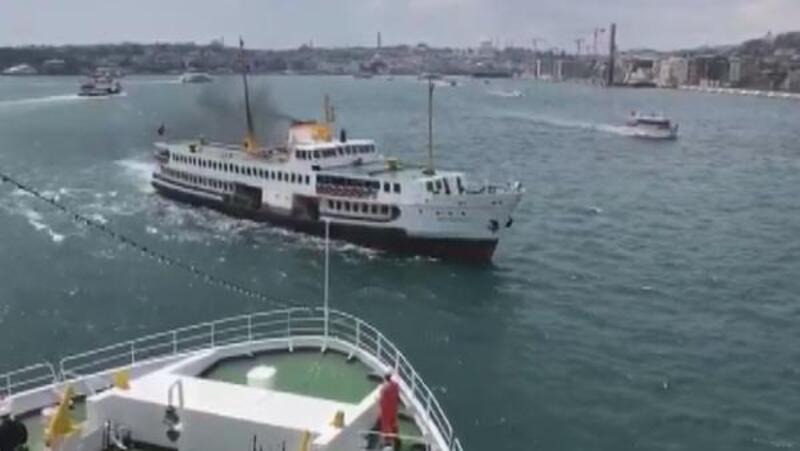 Boğaz'da facianın dönüldüğü anları gemidekiler görüntüledi