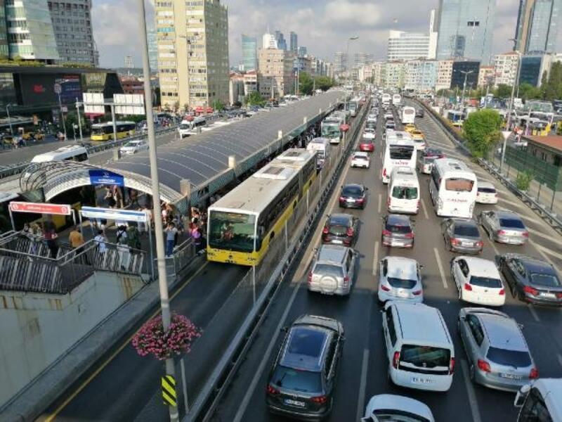 FSM'deki çalışmalar İstanbul trafiğini olumsuz etkiledi