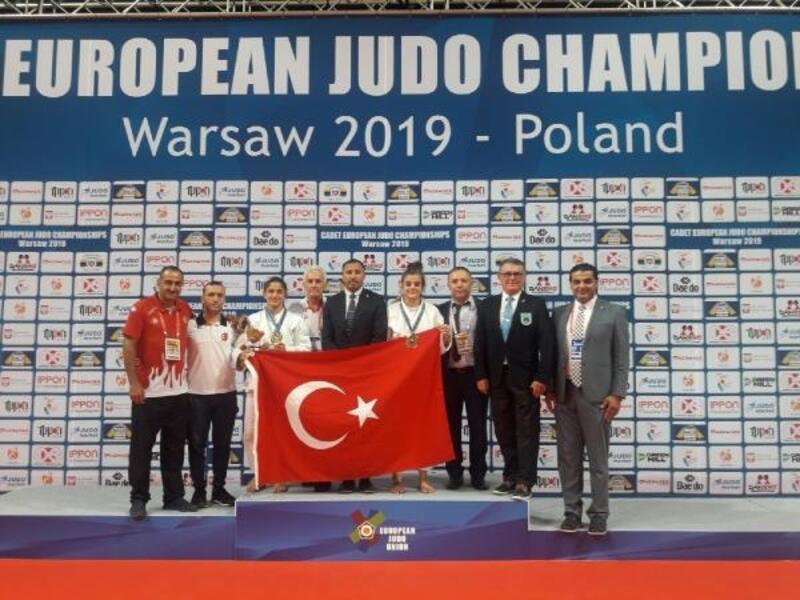 Ümitler Avrupa Judo Şampiyonası'nda madalyalara devam