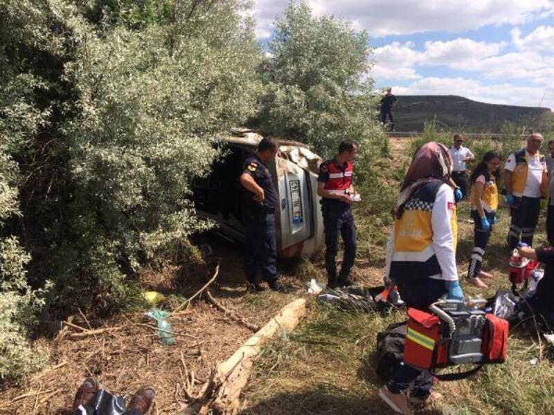 Mezuniyet dönüşü kaza: 4 ölü, 1 yaralı