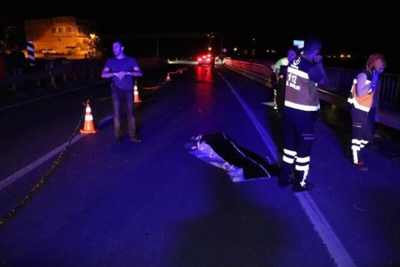 Otomobilin çarptığı Özge, yaşamını yitirdi