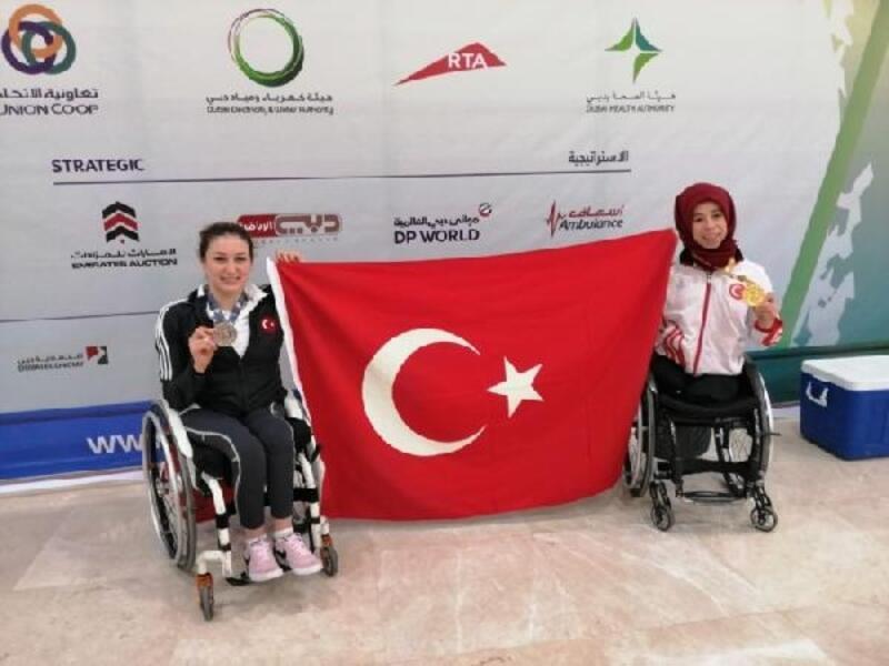 Türkiye, para atletizmde iki madalya kazandı