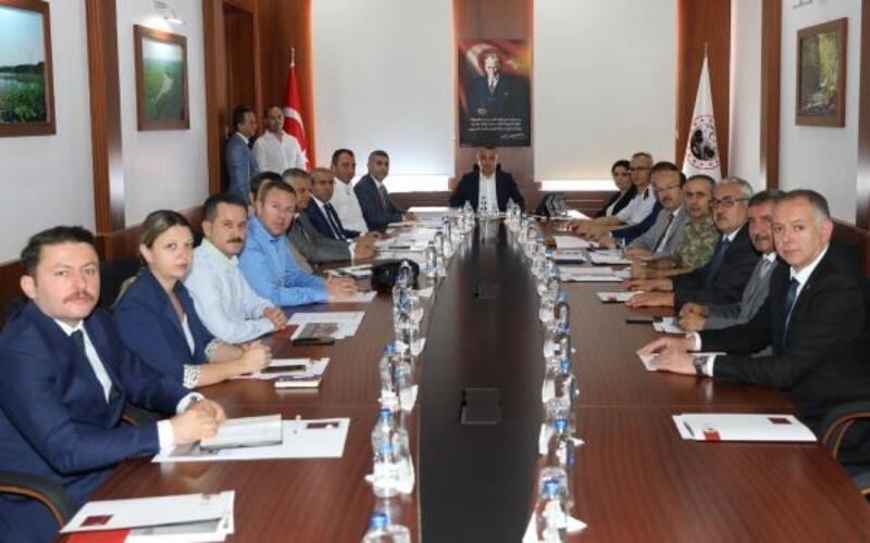 15 Temmuz etkinlikleri için toplantı düzenlendi